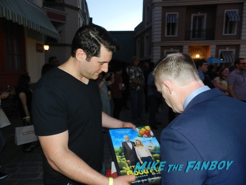 The Good Place FYC Event and set visit Marc Evan Jackson with fans 0096