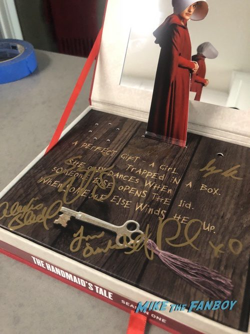 The Handmaid's Tale signed autograph music box dvd set