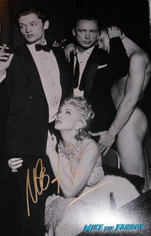Udo Kier signed autographs madonna photo psa