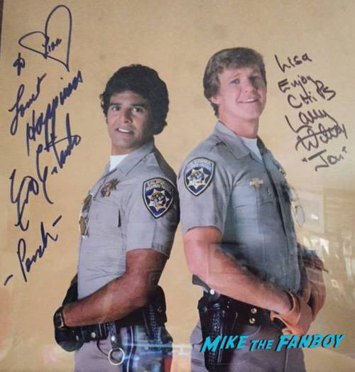 CHiPs cast meeting Erik Estrada Larry Wilcox0001