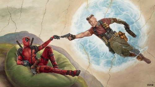 Josh Brolin shirtless Deadpool 2 4k Blu-ray Review 0006