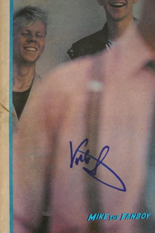 Erasure signed autograph lp vince clarke andy bell psa