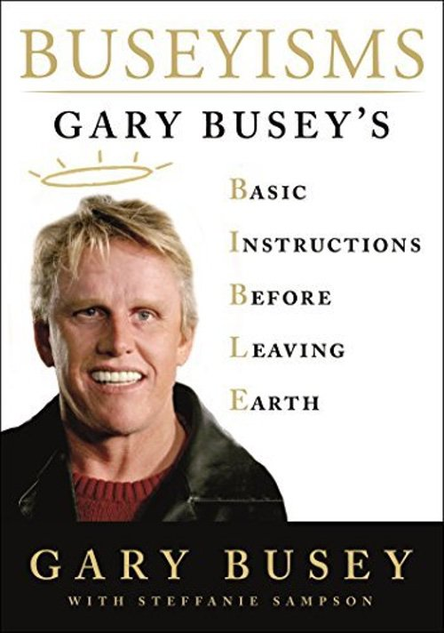 Gary Busey Signed Autograph book 0000