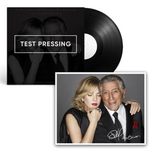 Tony Bennett and Diana Krall  Signed Book cd0002