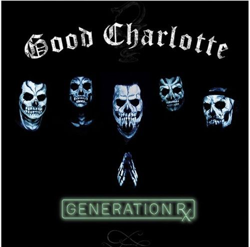 good charlotte Signed autograph cd