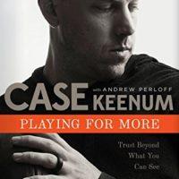 Case Keenum signed book