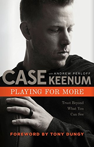 Case Keenum signed book