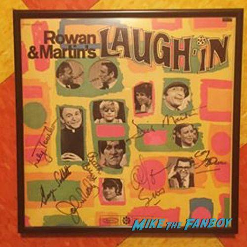 Laugh in Signed LP Album 0000