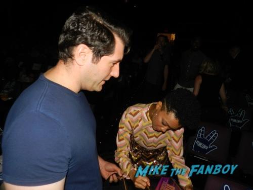 Sonequa Martin-Green with fans Star Trek Discovery fyc q and a meeting sonequa martin green with fans 0039