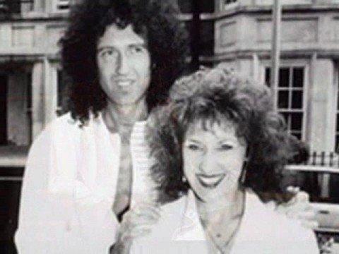 Anita Dobson and Brian Mays