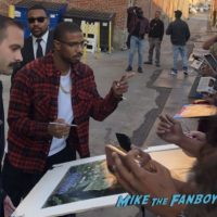 Michael B Jordan signing autographs jimmy kimmel live with fans 0008Michael B Jordan signing autographs jimmy kimmel live with fans 0008
