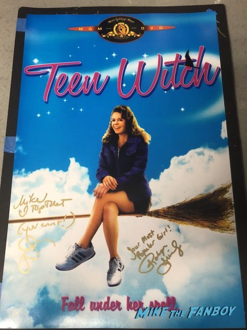 Teen Witch cast signed autograph poster robyn lively mandy ingbar