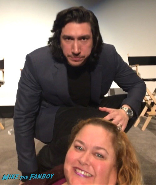 Adam Driver with fans blackklannsman q and a 0000