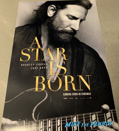 Bradley Cooper Signed Autograph A Star Is Born Poster