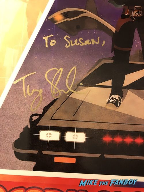 Tye Sheridan signed autograph ready player one lithograph Ace comic con