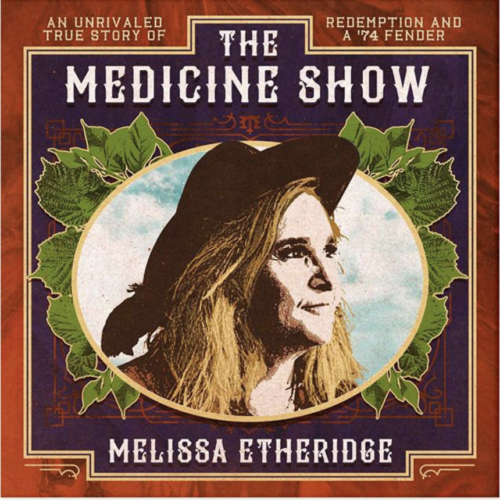 Melissa Etheridge signed cd