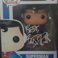 Brandon Routh Signed Autograph Superman Funko Pop 07 DC 0000