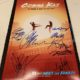 Cobra Kai signed autograph poster ralph macchio william zabka