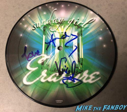 erasure signed autograph picture disc sucker for love