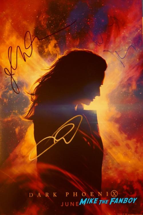 Nicholas Hoult signing autographs jimmy kimmel live