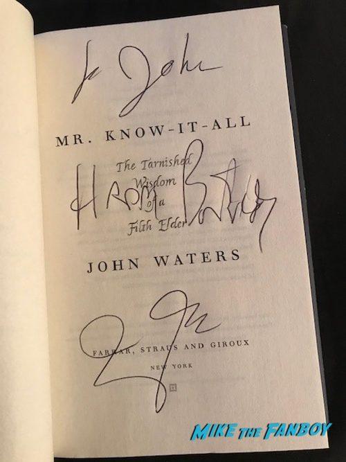john waters book signing 0014