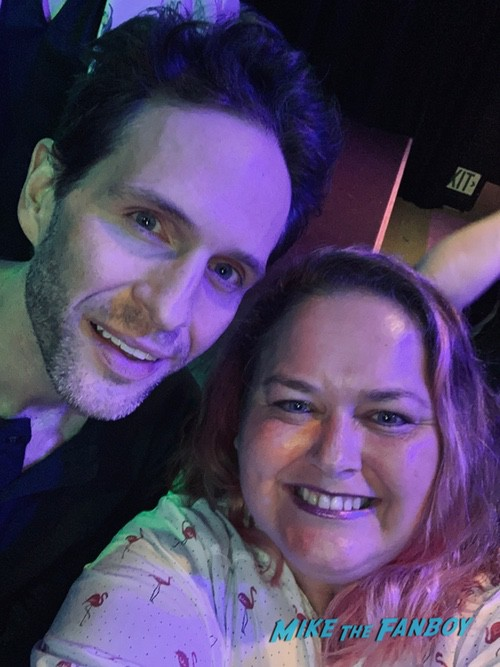 Glenn Howerton with fans signing autographs