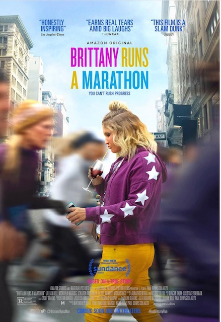 brittany runs a marathon review