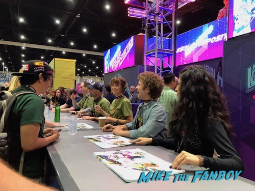 SOLAR opposites cast signing fox booth sdcc
