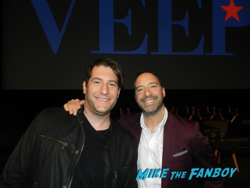Tony Hale with fans Veep 2019 fyc event julia louis dreyfuss with fans 0009