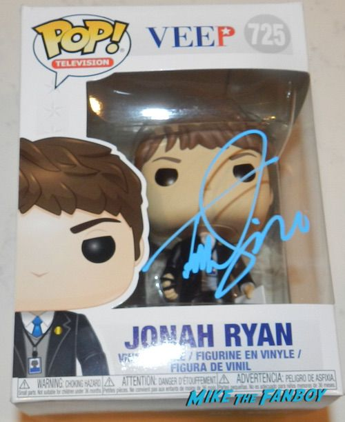 Timothy Simmons SIGNED AUTOGRAPH veep funko pop