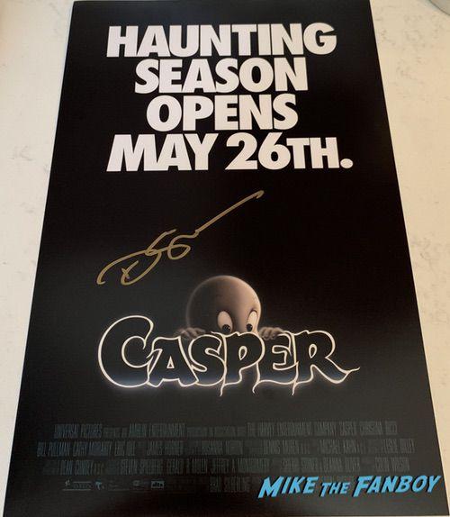 Devon Sawa signed Casper poster psa