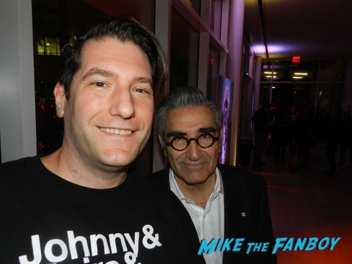 Eugene Levy With Fans Schitt's Creek FYC emmy event Catherine O'Hara with fans 0003