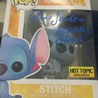 chris sanders signed autograph lilo and stitch funko pop 0000