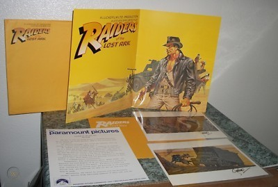 raiders of the lost ark presskit