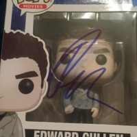 Robert Pattinson Signed Funo pop twilight 0000