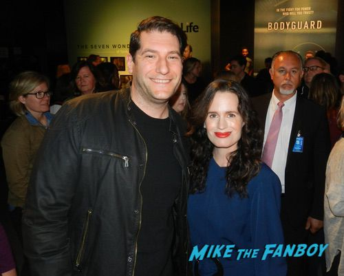 Elizabeth Reaser with fans The Haunting of Hill House FYC q and a 0002