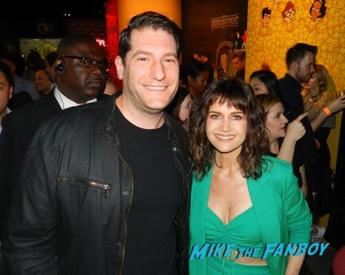 Carla Gugino With fans The Haunting of Hill House FYC q and a 0012