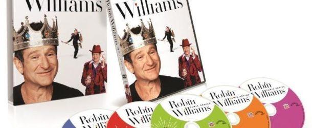 ROBIN WILLIAMS: COMIC GENIUS dvd giveaway