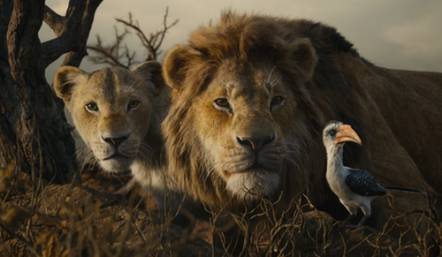 THE LION KING blu ray giveaway
