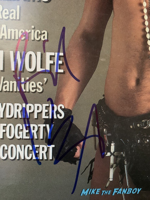 Billy idol signed rolling stone