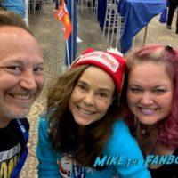 Dana Barron with fans vacation reunion 0005