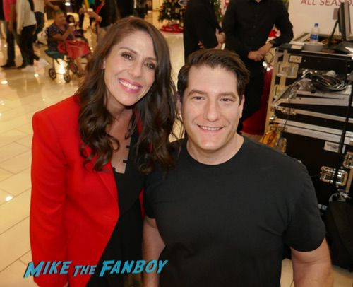 Soleil Moon Frye with fans It's a Wonderful Lifetime Holiday Event recap 0014