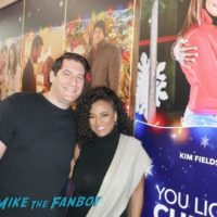Kim Fields with fans It's a Wonderful Lifetime Holiday Event recap 0014