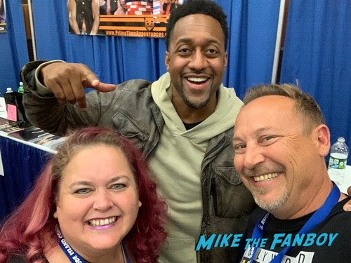 Jaleel White Cast with fans rhode island comic con 0002