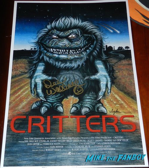 Dee Wallace signed autograph Critters poster