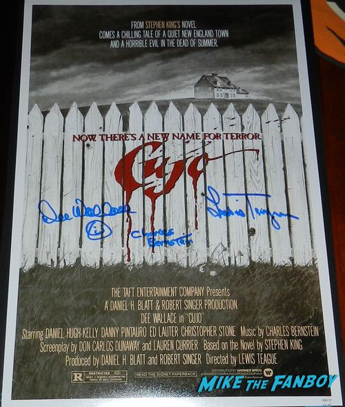 Dee Wallace signed autograph Cujo poster