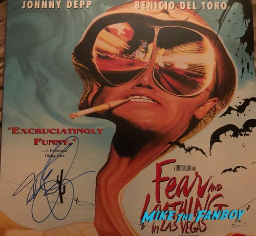 The man who killed Don Quixote signed autograph poster