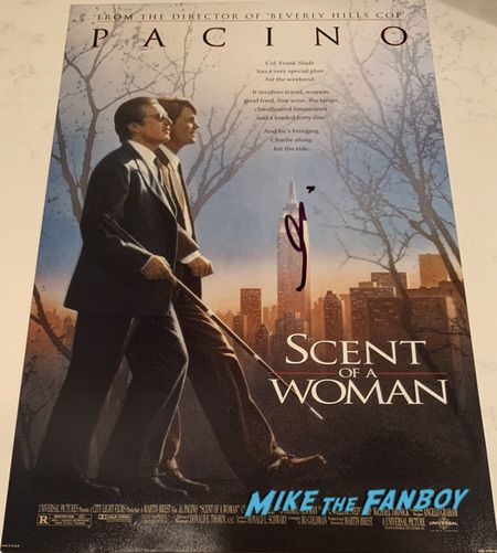 Al Pacino Signed Autograph scent of a woman poster PSA 0000