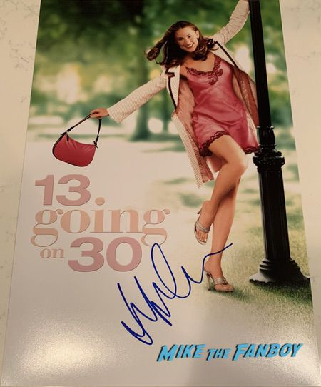 Jennifer Garner signed autograph poster shirtless