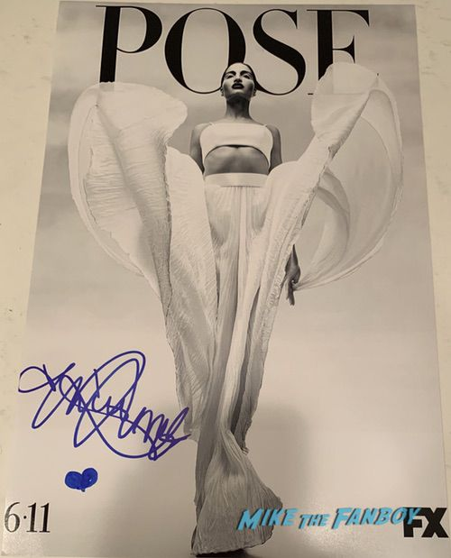 Indya Moore signed autograph pose season 2 poster